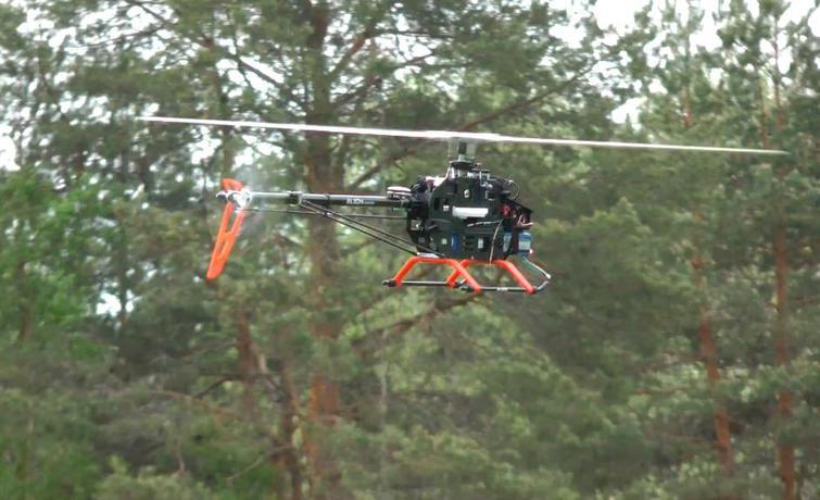 Naza-H – автопилот для вертолета