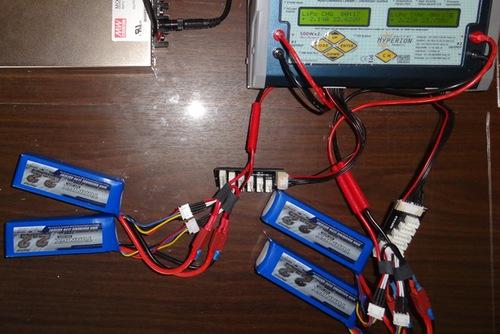 Последовательная зарядка аккумуляторов