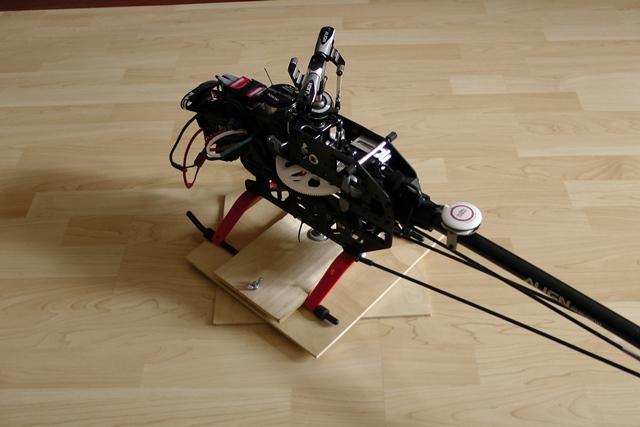 Платформа для настройки хвостового гироскопа
