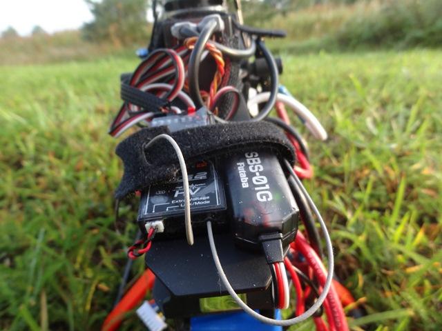 Телеметрия от Футабы. GPS датчик SBS-01G.