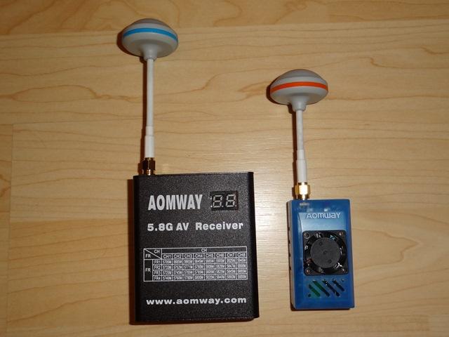 Комплект для передачи видеосигнала от Aomway