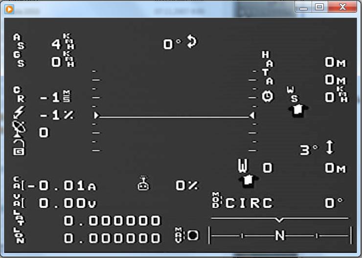 OSD для ArduPilot Mega – система наложения данных телеметрии на полетное видео