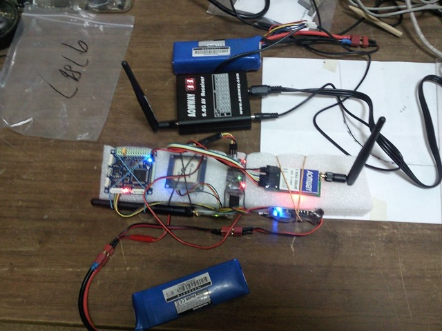 Тест дальности системы передачи видеосигнала на 5.8 ГГц