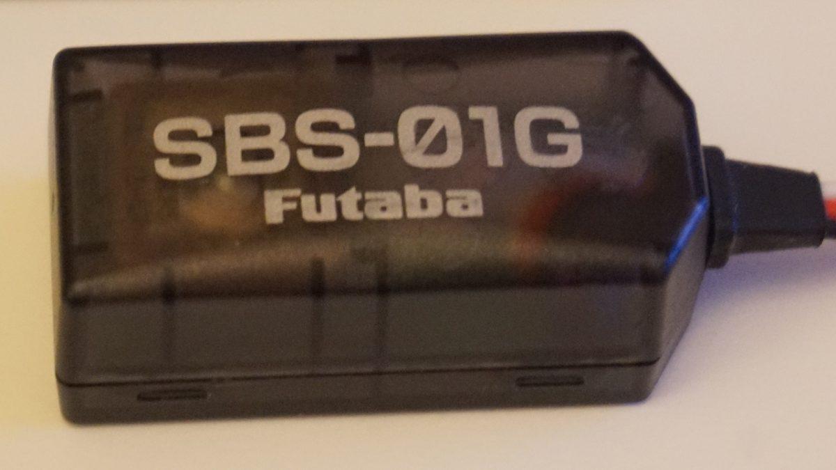 Futaba SBS-01G. Система поиска модели в радиусе 1 км.