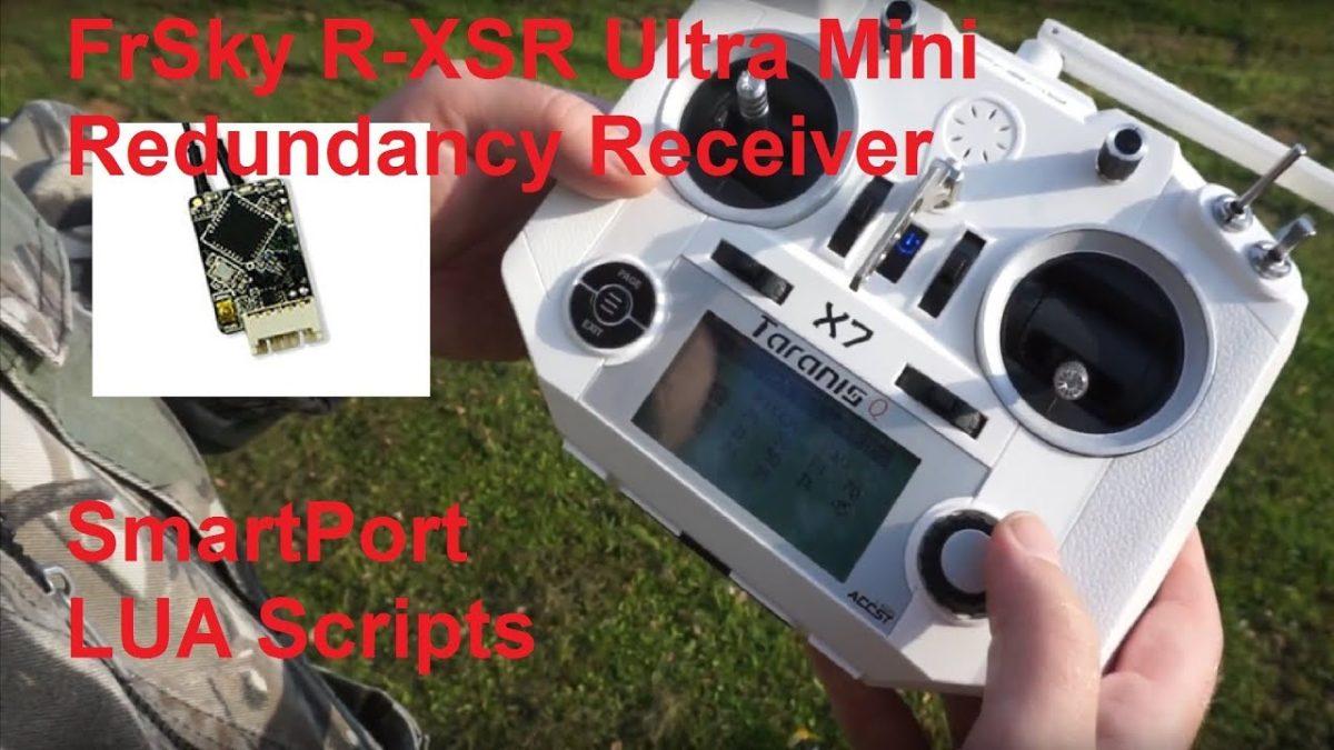 FrSky R-XSR – микроприемник для Taranis. SmartPort в BetaFlight и Lua скрипты.