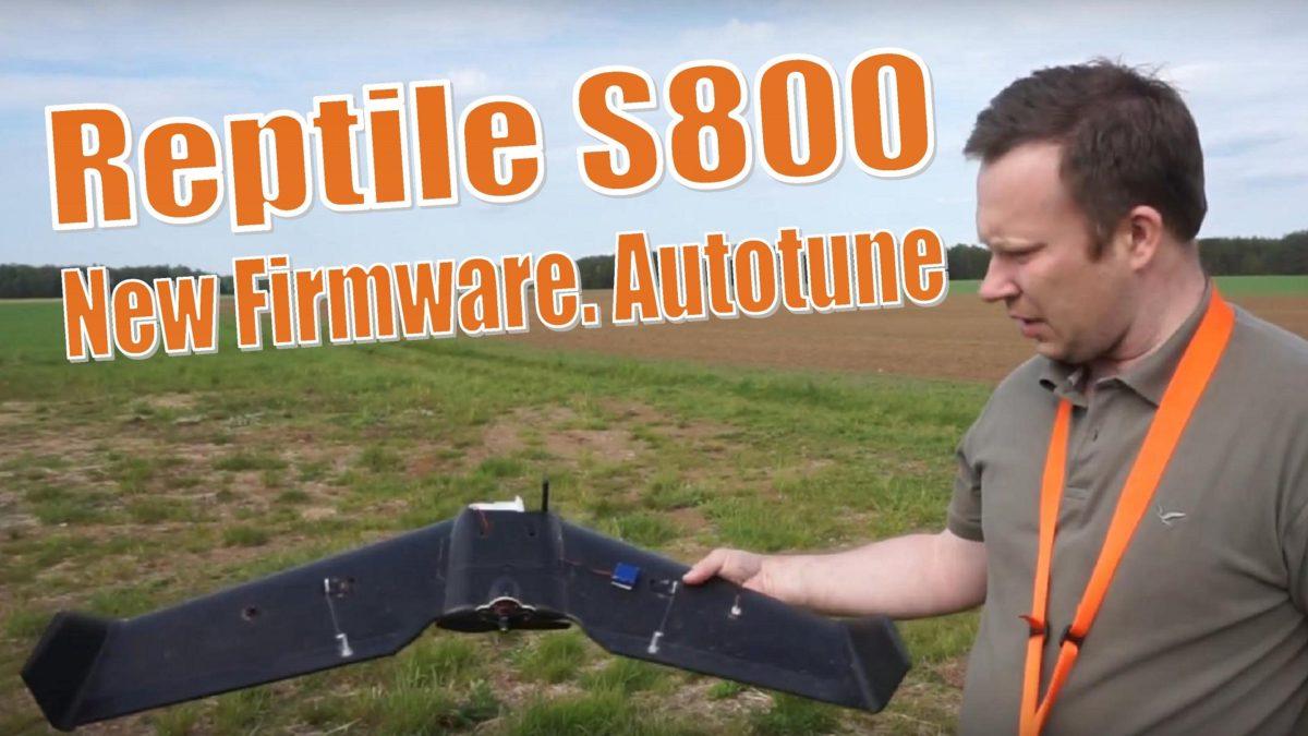 Рептилия / Reptile S800. Обновил прошивку Inav и выполнил Autotune