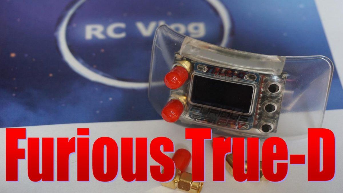 Furious True-D – продвинутый приемник для FPV очков