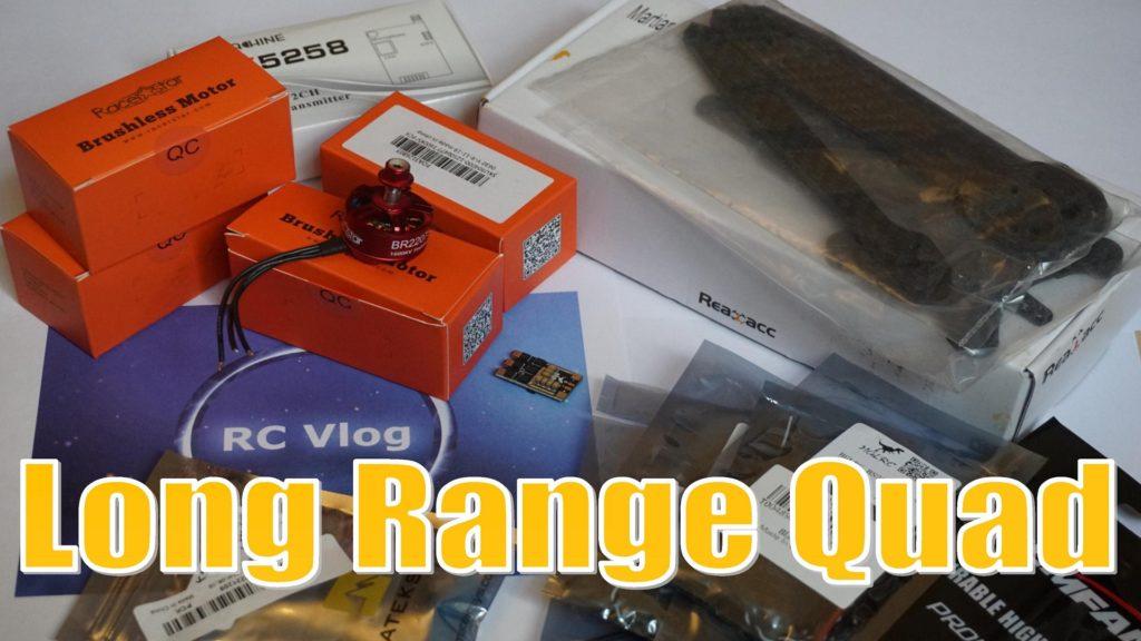 Long Range Quad – комплектующие для дальнолета