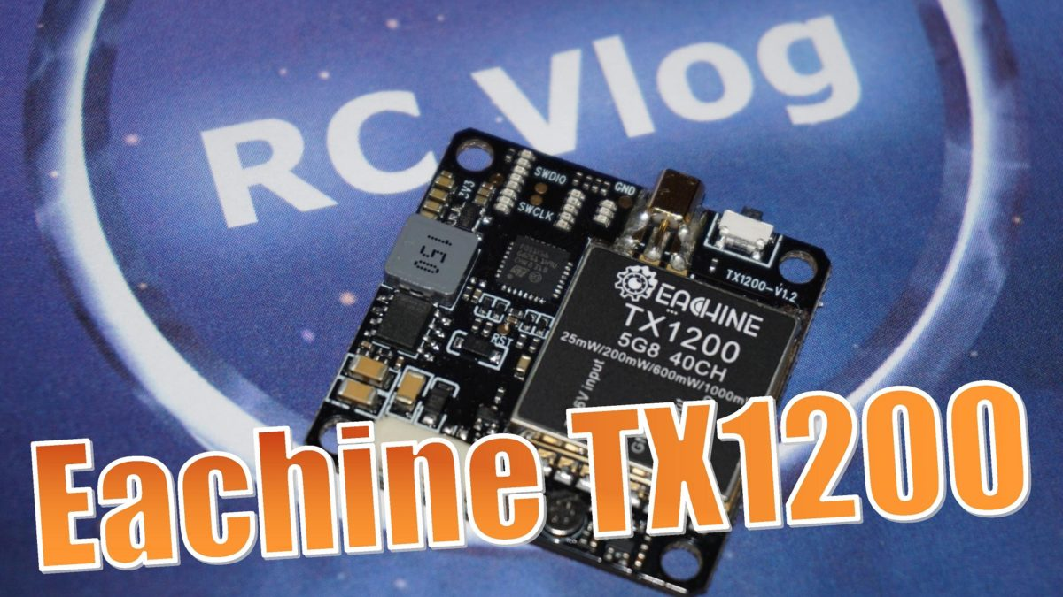 Eachine TX1200. Измеряю мощность видеопередатчика