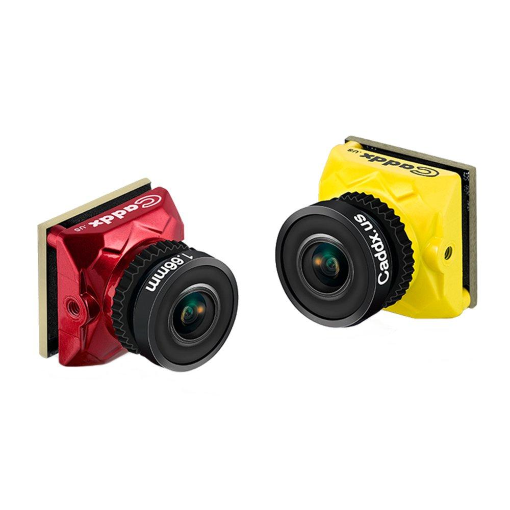 "Caddx Ratel 1/1.8"" Starlight HDR OSD 1200TVL NTSC/PAL 16:9/4:3 Switchable 1.66mm/2.1mm Lens FPV camera"