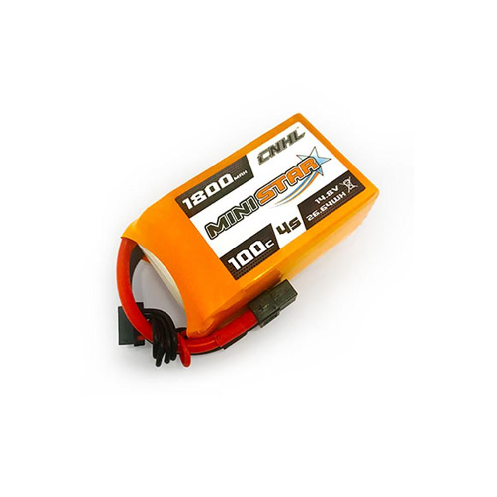 CNHL MiniStar 4S 14.8V 1800mAh 100C Lipo Battery