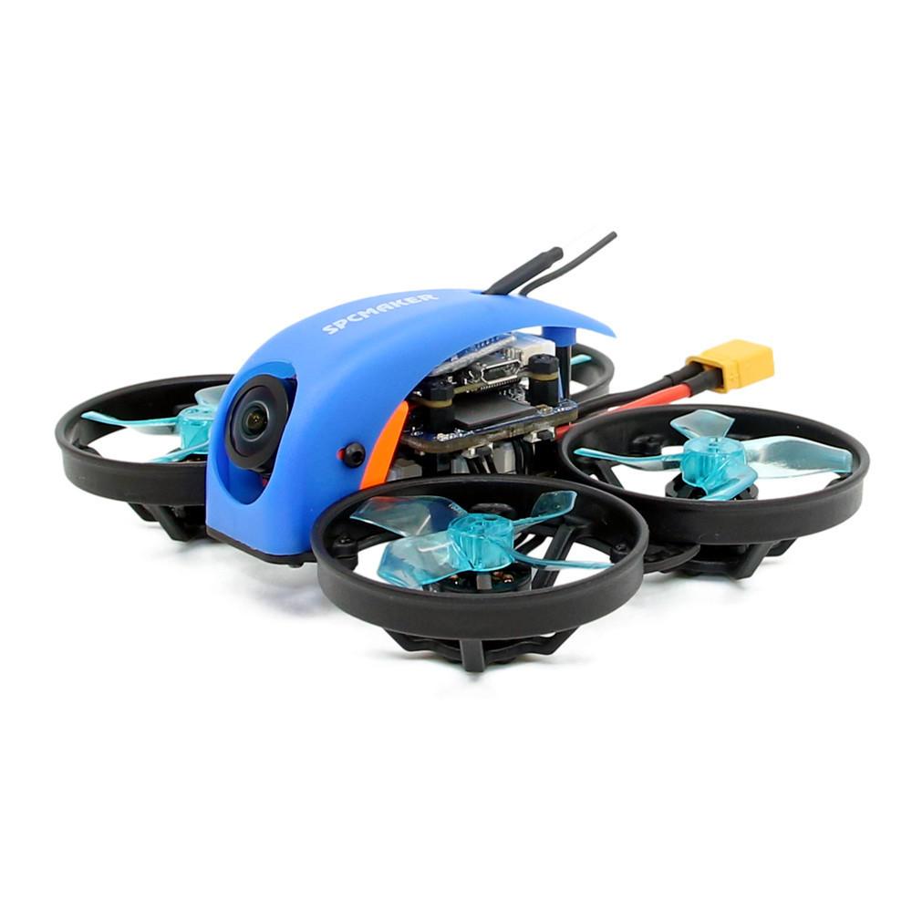 SPC Maker Mini Whale HD 78mm Micro F4 FPV Racing Drone PNP BNF w/ 25/100mW VTX Runcam Split Mini 2