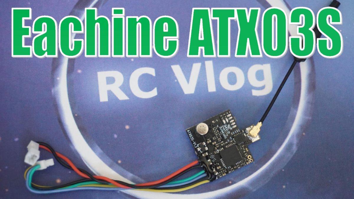 Eachine ATX03S. Маленький и мощный, даже слишком мощный