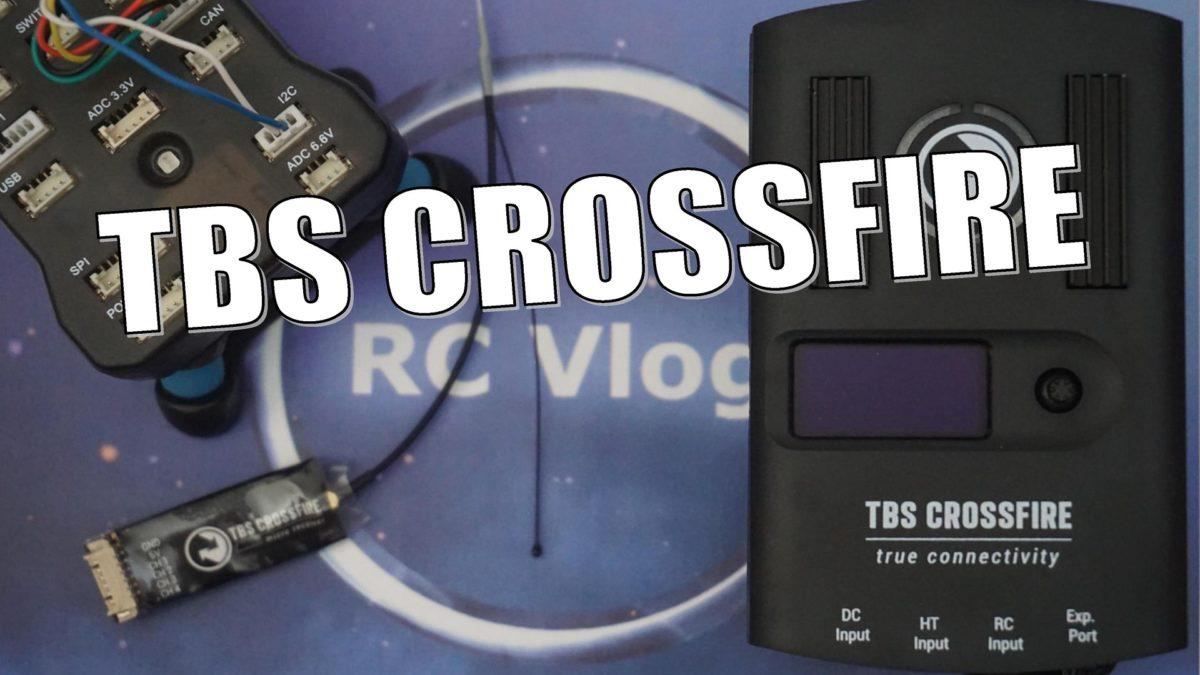 TBS CROSSFIRE. Подключаю к Pixhawk . Теперь не нужны модемы