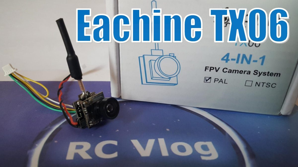 Eachine TX06 4-IN-1 FPV Camera System