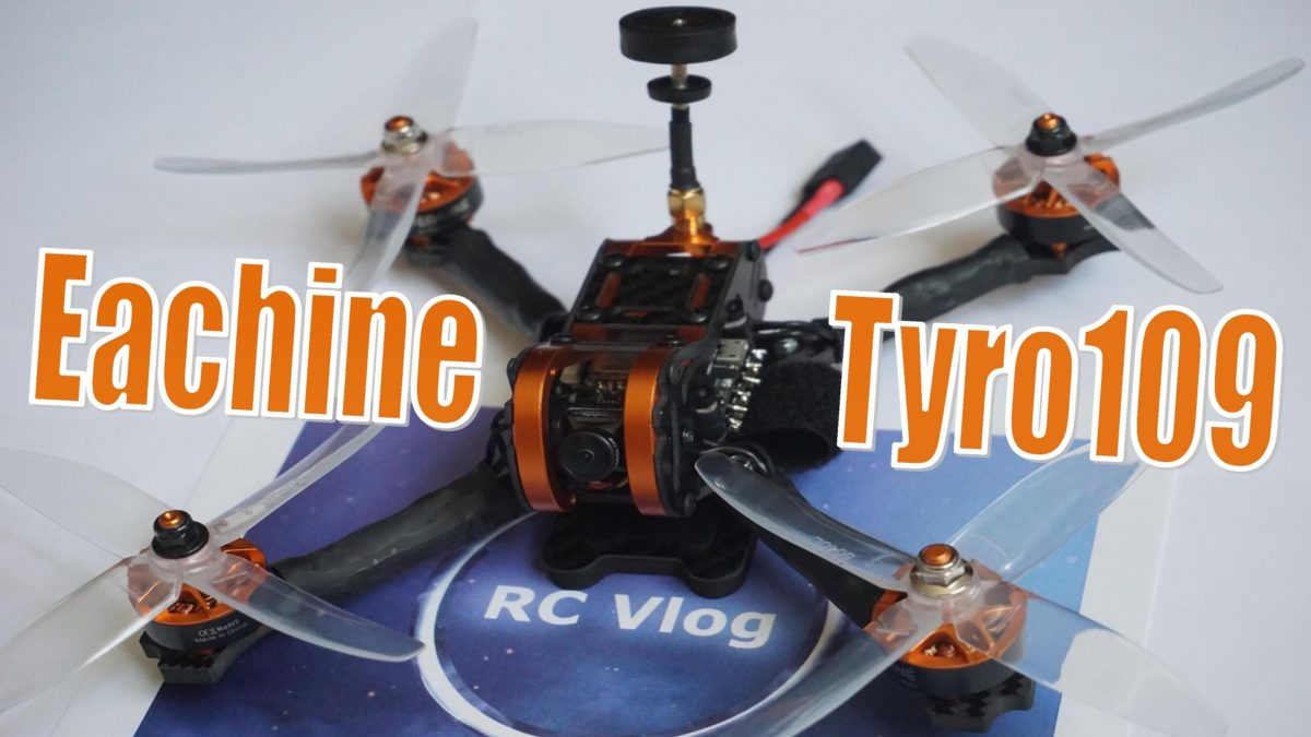 Eachine Tyro109. Сборка, настройка и тестовый полет.
