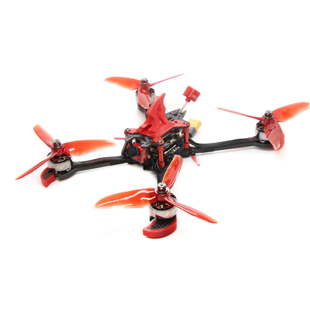 FLYWOO Vampire 230mm F4 2207 1750KV 6S / 2450KV 4S FPV Racing Drone PNP BNF w/ Foxxer Arrow Mini Pro Camera RC Drone