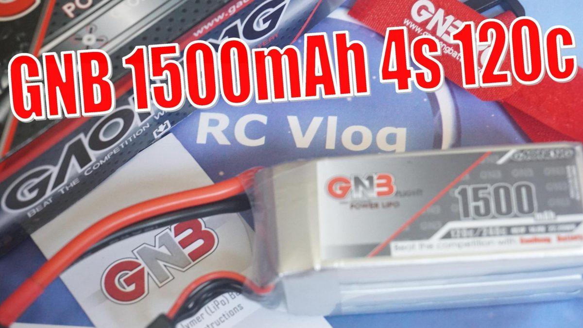 Lipo GNB 1500mAh 4S 120C. Тест на компьютерном стенде