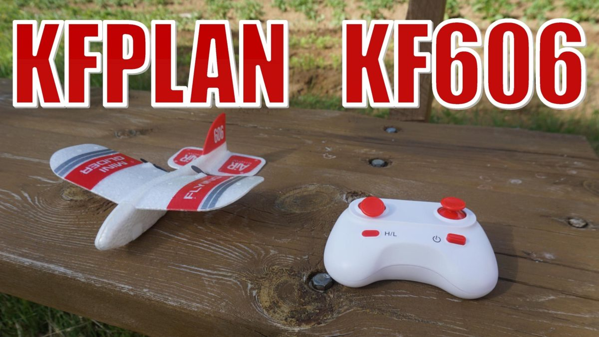 KFPLAN KF606. Классный мини самолет