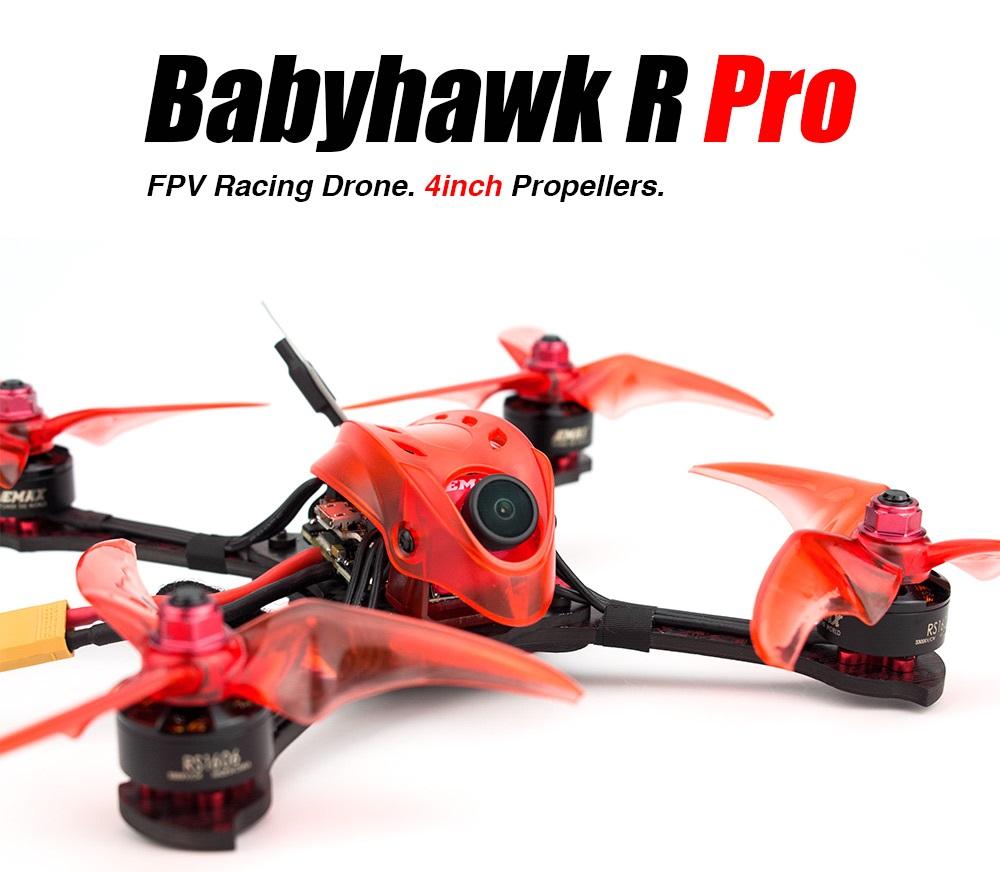 Emax BabyHawk R PRO 4 Mini Magnum III F4 4 Inch 3-6S FPV Racing Drone BNF w/ Caddx S1 Camera