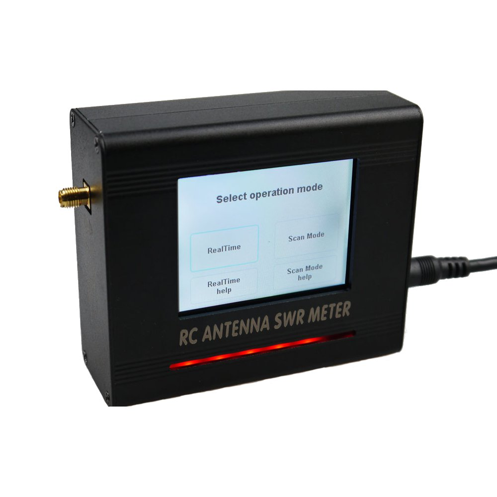OWLRC Upgraded 5.8GHz RC Antenna SWR Meter V2 With TFT 2.8 Inch Touch Screen Built-in 200mw Transmitter