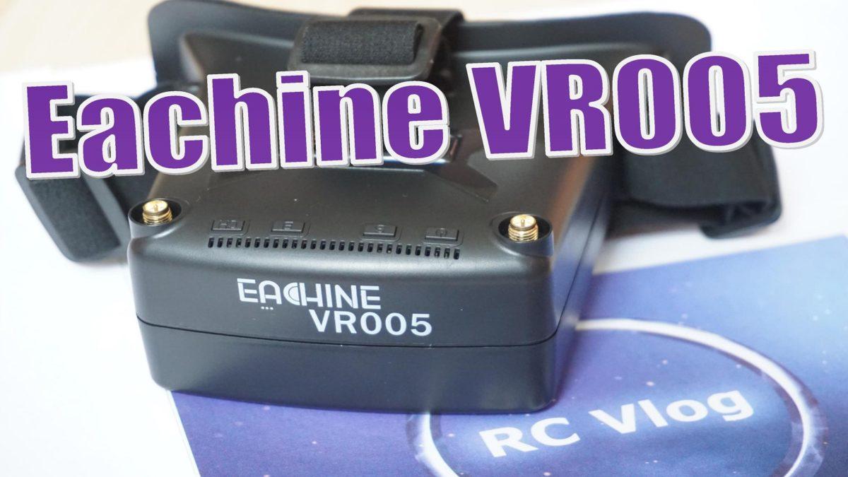 Eachine VR005. Бюджетный шлем с широким экраном