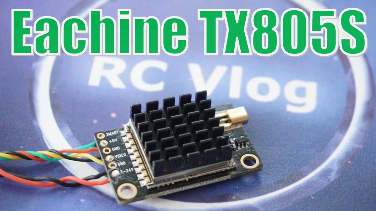Eachine TX805S — 1600mW?