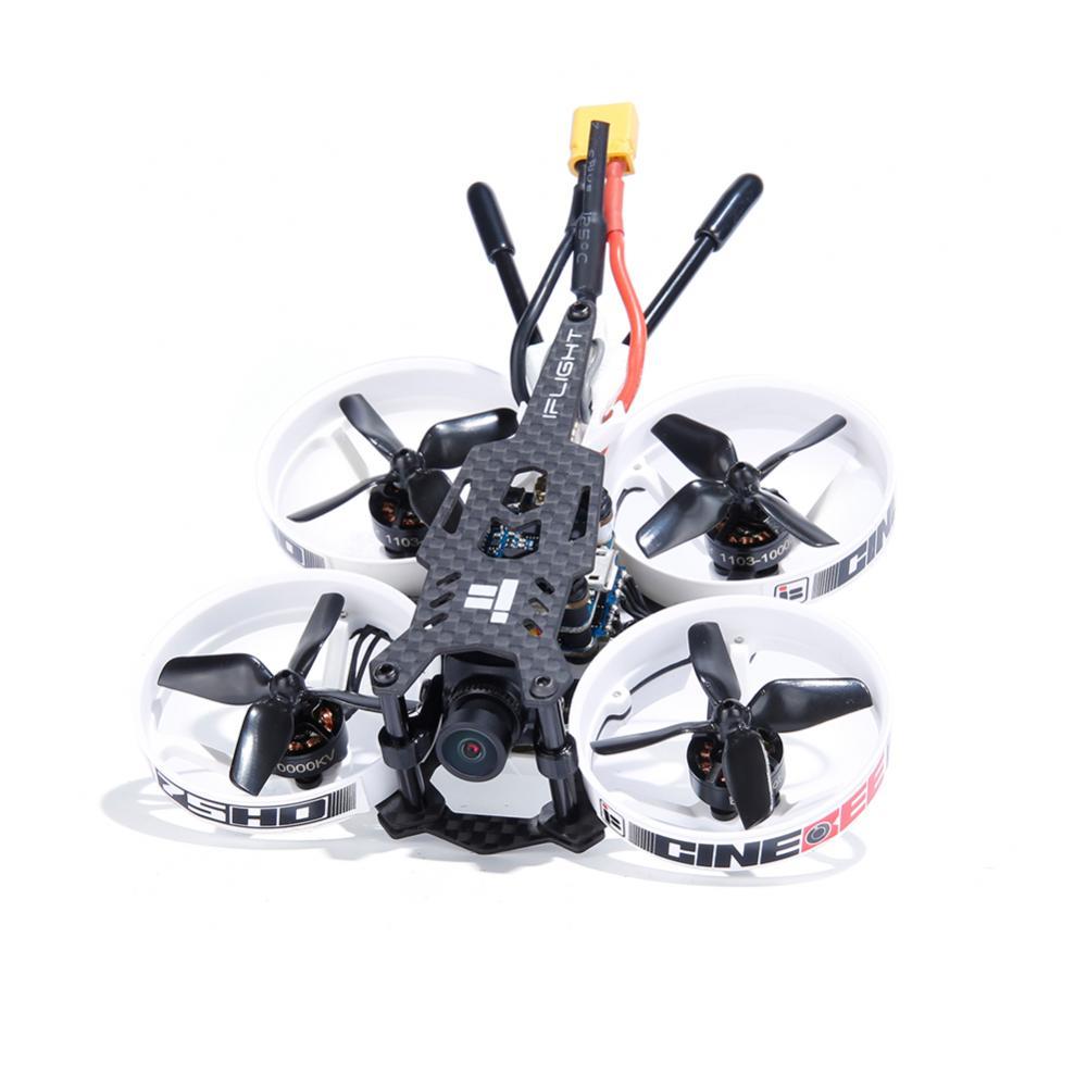 iFlight Cinebee 75HD Plus F4 Cinewhoop FPV Racing Drone PNP BNF w/ Runcam Split 3 Nano HD Camera