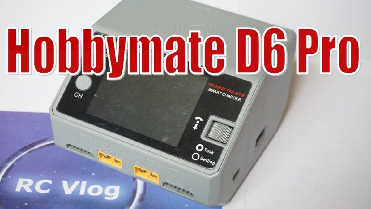 Hobbymate D6 Pro. Мощнное, компактное, двухпортовое универсальное зарядное устройство.
