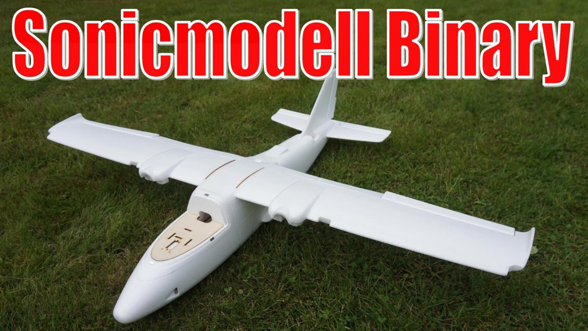 Sonicmodell Binary. Новая платформа для аэрофотосъемки