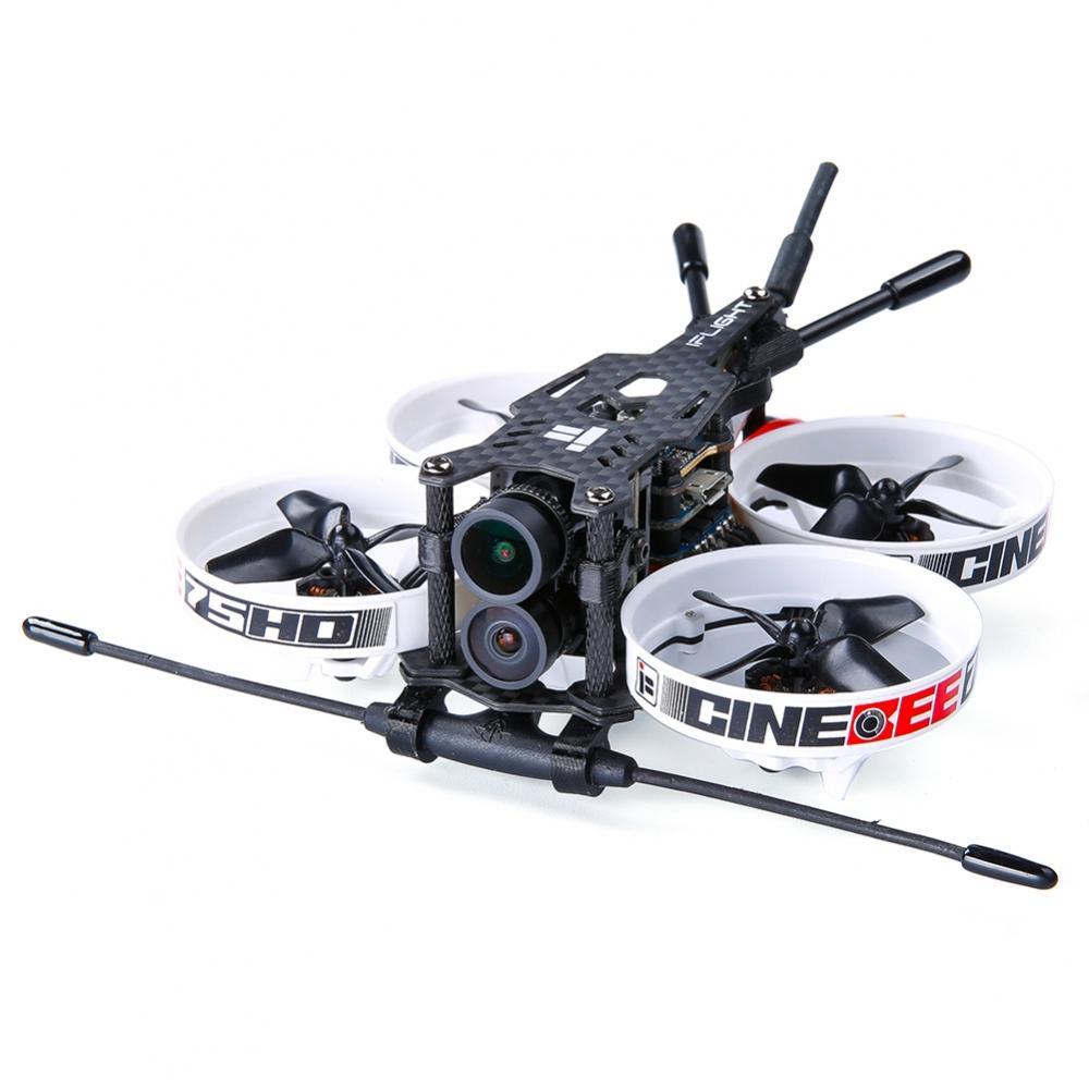 iFlight Cinebee Hybrid 4K 75mm F4 Whoop FPV Racing Drone PNP BNF w/ Runcam Hybrid 4K Camera