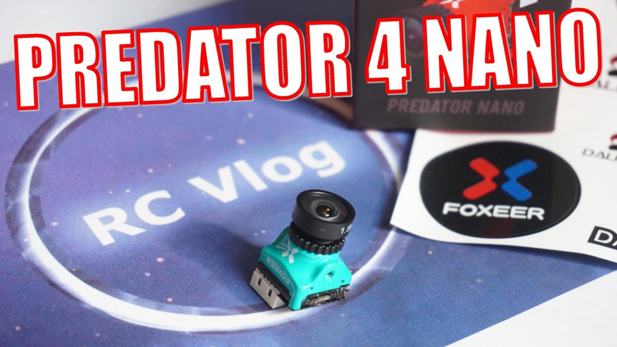 Foxeer Predator 4 Nano. Хищник в нано размере.