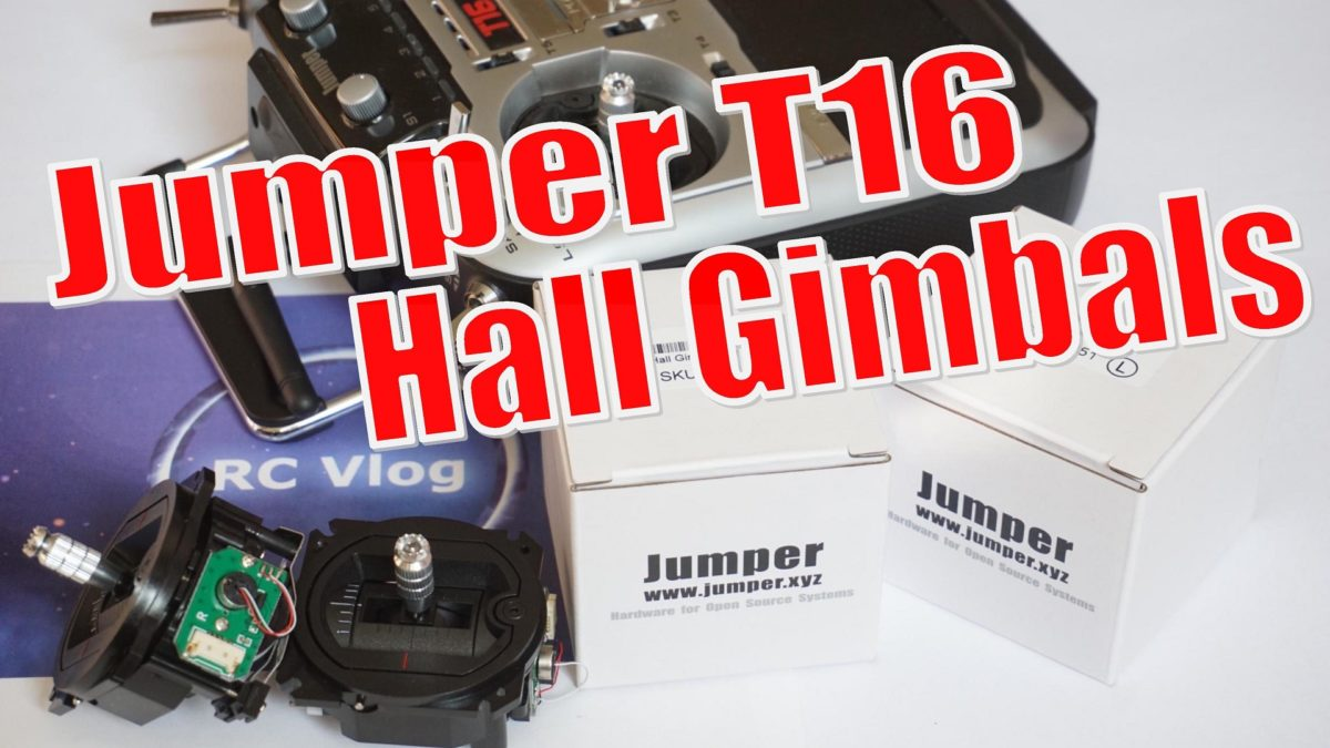 Jumper T16 Hall Gimbals