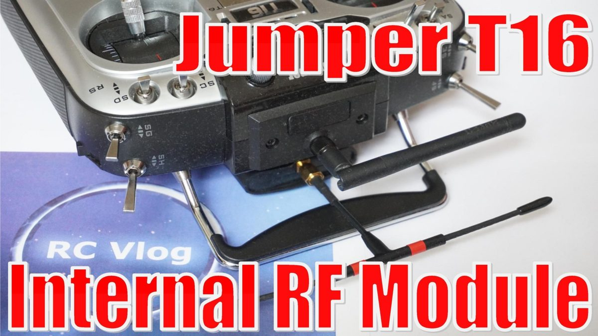 Jumper T16. Internal RF Module. Устанавливаю внутренний радио модуль