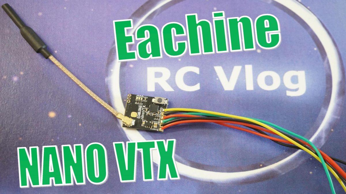 Eachine NANO VTX. Тест мощности