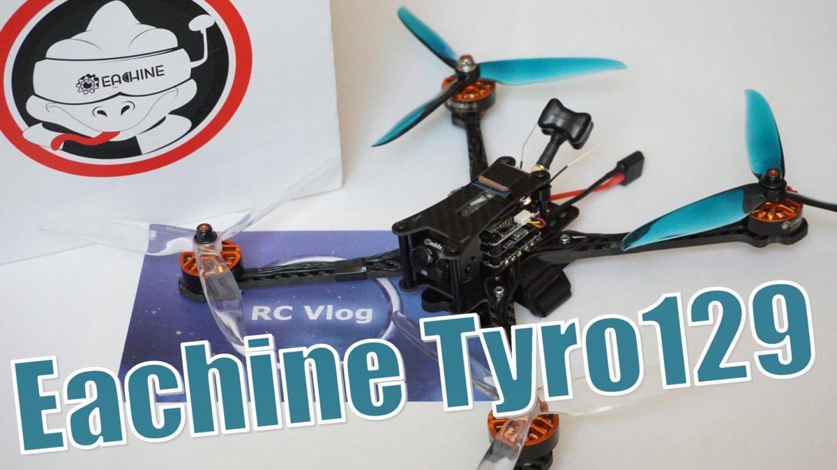 Eachine Tyro129. Бюджетный семи дюймовый квадрокоптер с GPS