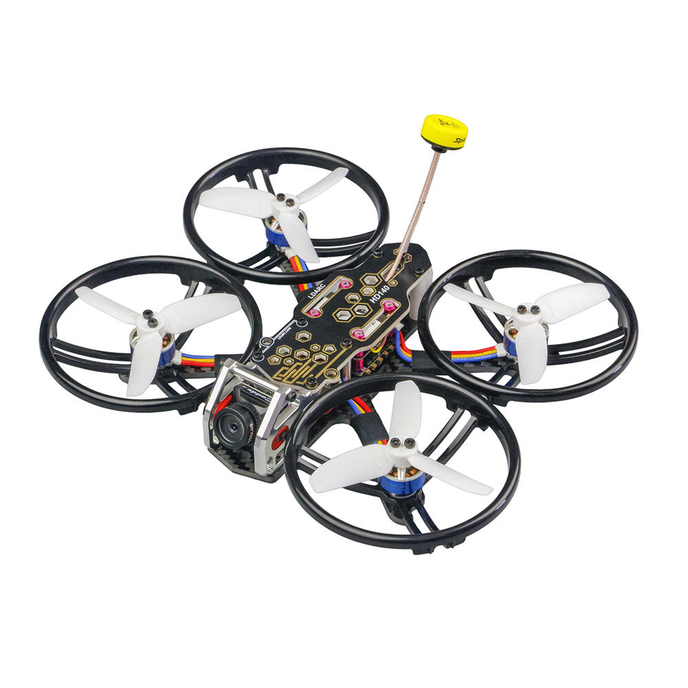 LDARC/KINGKONG HD140 140mm 2.8 Inch 4S FPV Racing Drone PNP/BNF F4 OSD 20A ESC Caddx  Turtle V2 HD Cam