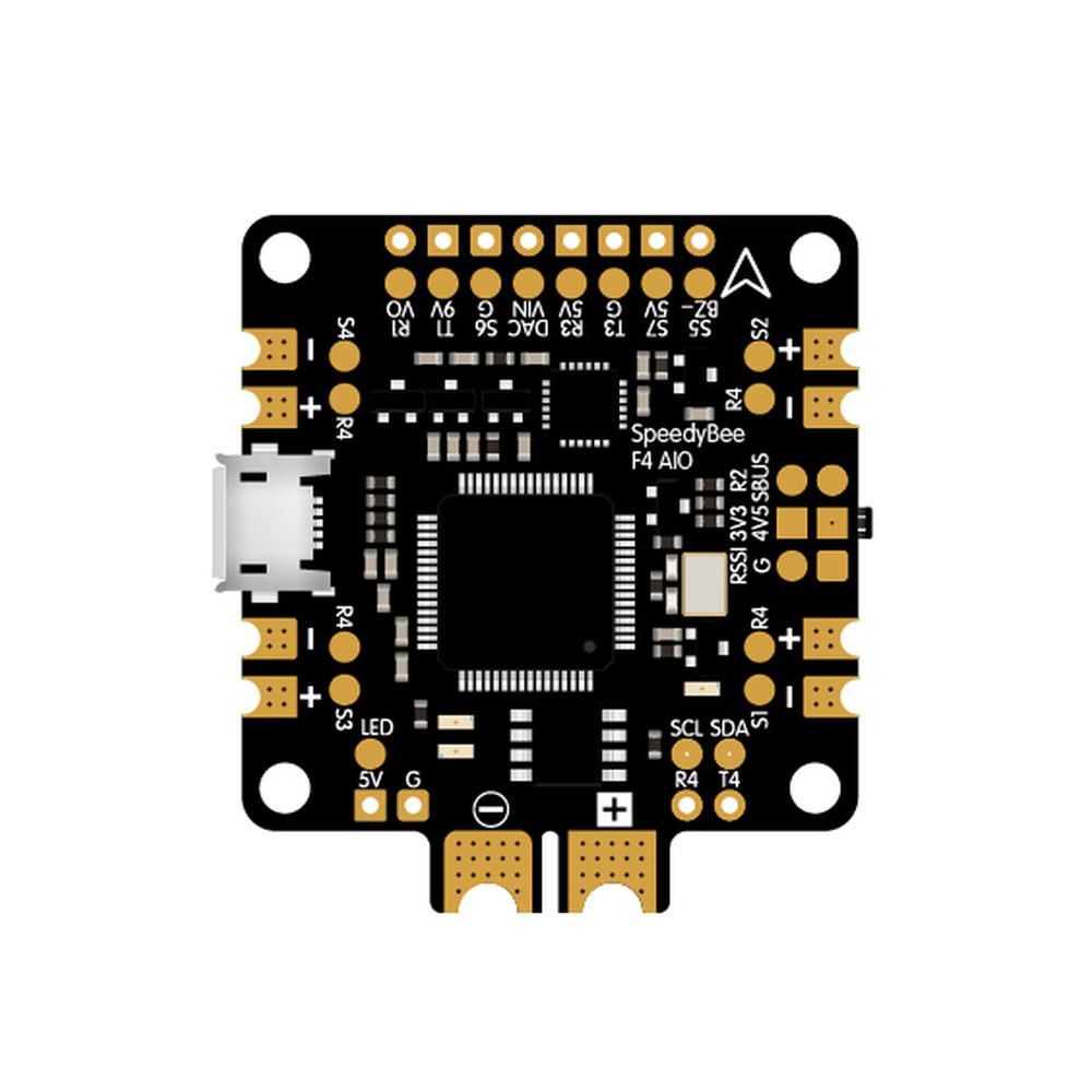 Speedy Bee F4 V2.0 AIO 3-6S Bluetooth Flight Controller