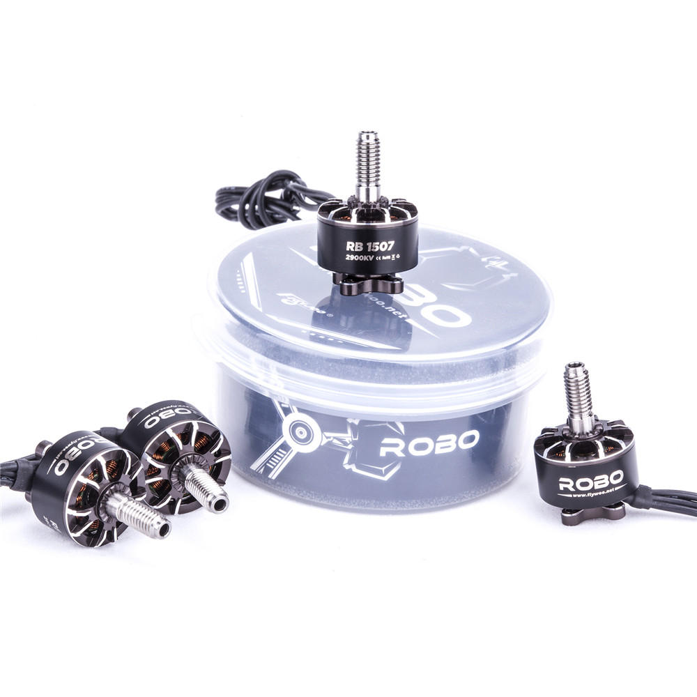 Flywoo ROBO Series Cinewhoop RB 1507 4S 2900KV 6S 4150KV Titanium Shaft FPV Brushless Motor For FPV Racing
