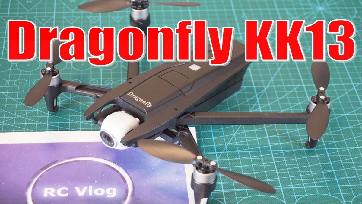 Dragonfly KK13. Вылет стрекозы зимой!?