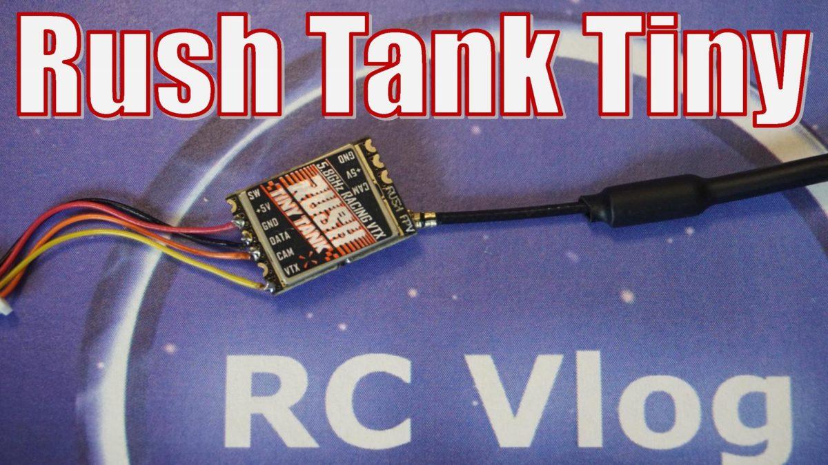 Rush Tank Tiny VTX. Видеопередатчик самый во всем