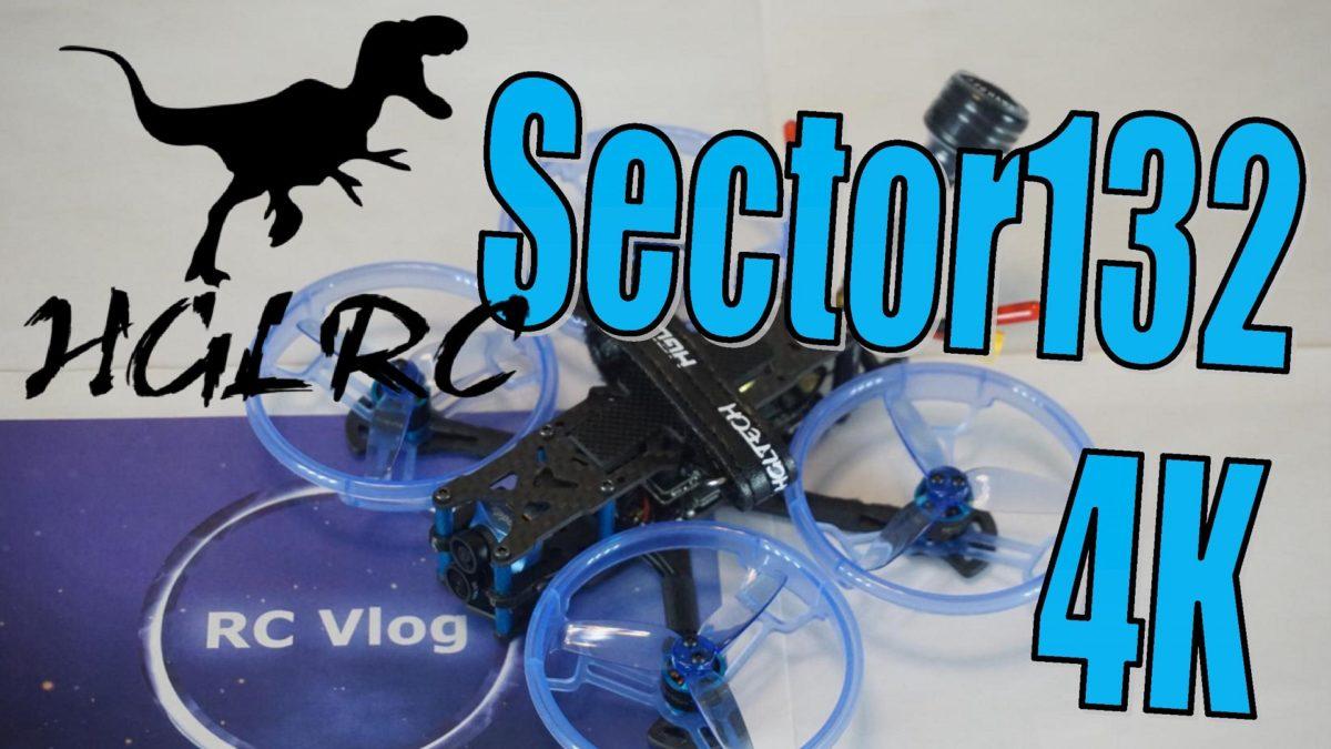 HGLRC Sector132 4K. Синевуп на интересных компонентах.