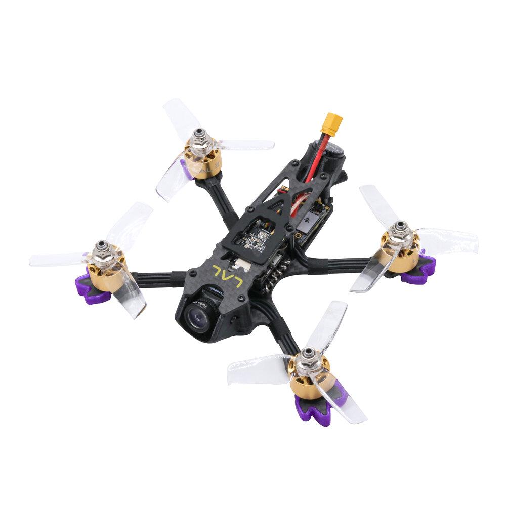 Eachine LAL3 145mm 3 Inch 3-4S FPV Racing Drone PNP Caddx Turtle V2 F4 FC 1408 3750KV Motor 25A ESC 300mW VTX