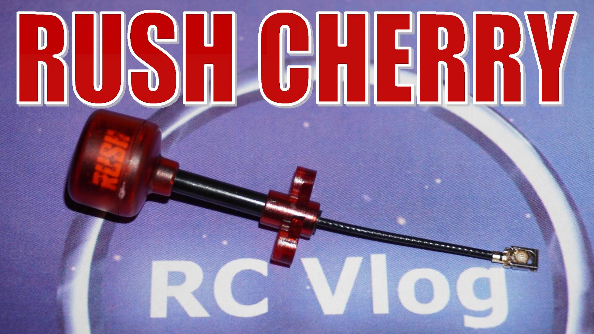 Rush Cherry Antenna IPEX U.FL IPX 1.2dBi 5.8Ghz RHCP/LHCP for FPV Racing Drone RC Airplane