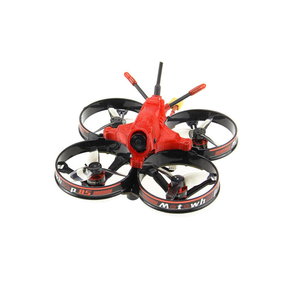 HGLRC MotoWhoop 85mm F4 3S 2 Inch FPV Racing Drone w/ 25-400mW VTX RunCam Nano 2 Camera PNP BNF