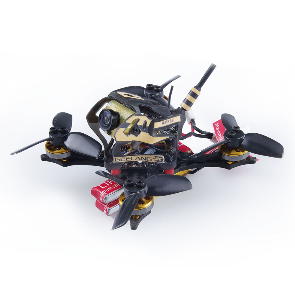 GEELANG WASP 85X 2 Inch 2S Toothpick FPV Racing Drone BNF / PNP F4 Flight Controller 1202 8700KV Motor 800TVL Cam