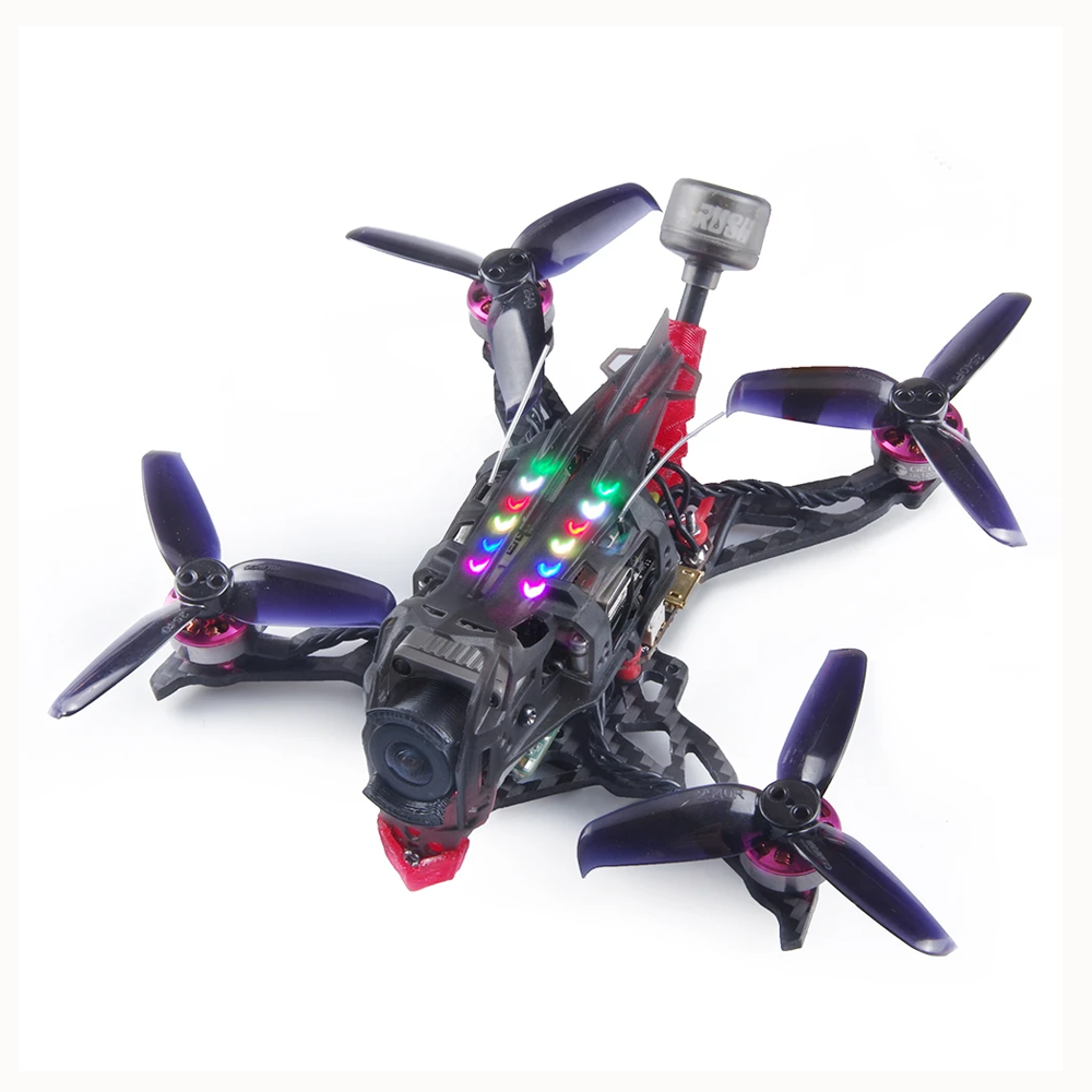 GEELANG DJI Titan 120x HD 120mm 2.5 Inch 3-4S Whoop FPV Racing Drone BNF Caddx Vista FPV Camera