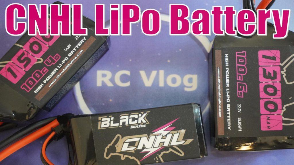 CNHL LiPo Battery Black Series 1300mAh 6s / 1500mAh 4s