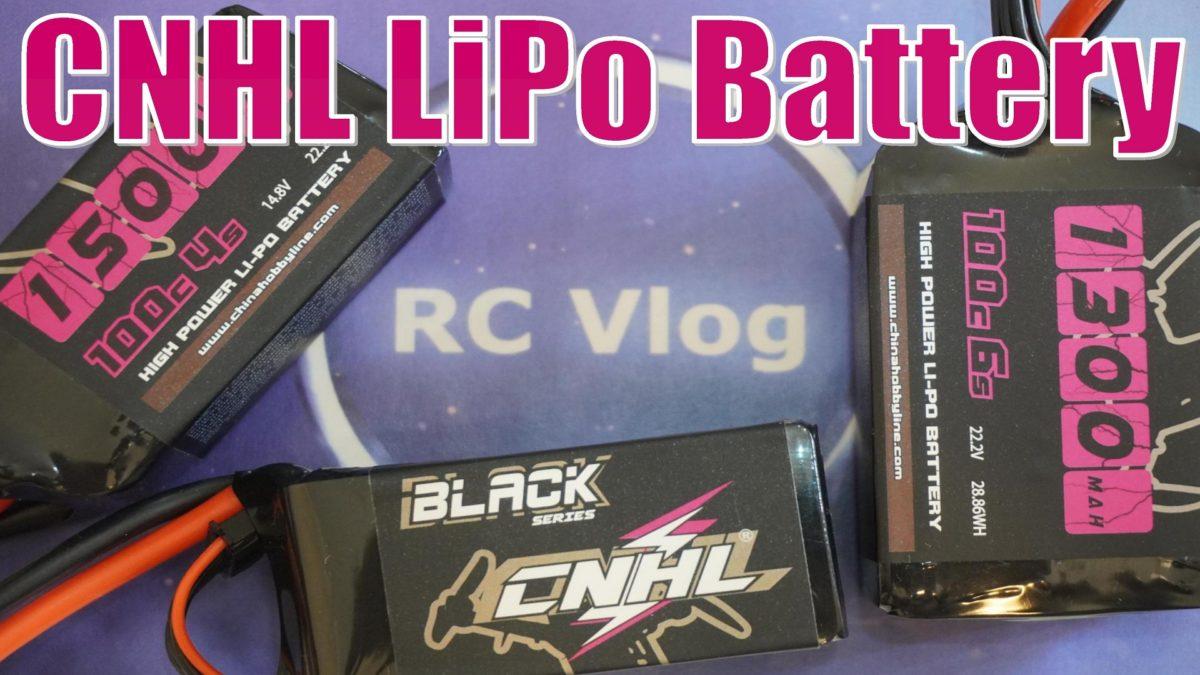 CNHL LiPo Battery Black Series 1300mAh 6s / 1500mAh 4s. Полный обзор и тест аккумуляторов.