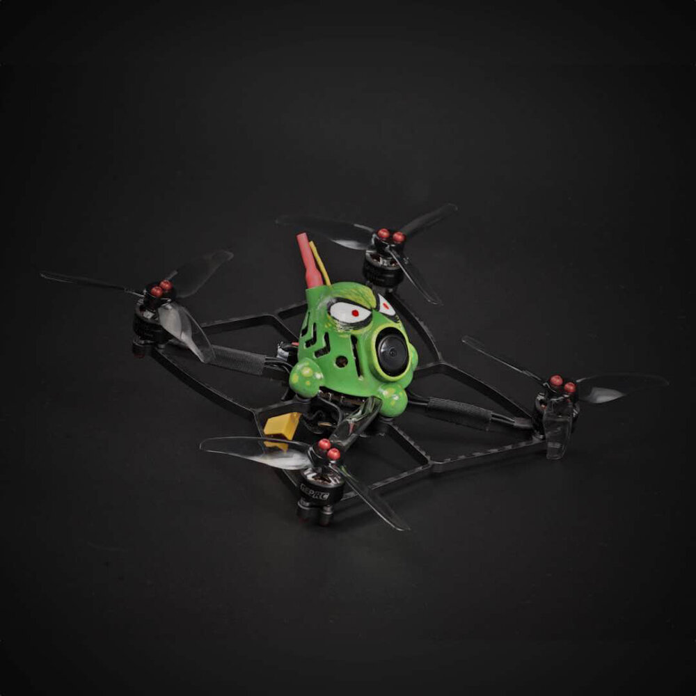 Stardrone Octopus 130mm Hand-painted FPV Toothpick FPV Racing Drone BNF GEPRC 1105 5000KV Motor Runcam Nano 2 Camera